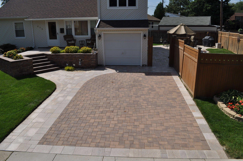 long island driveways walkways paver paving stones design