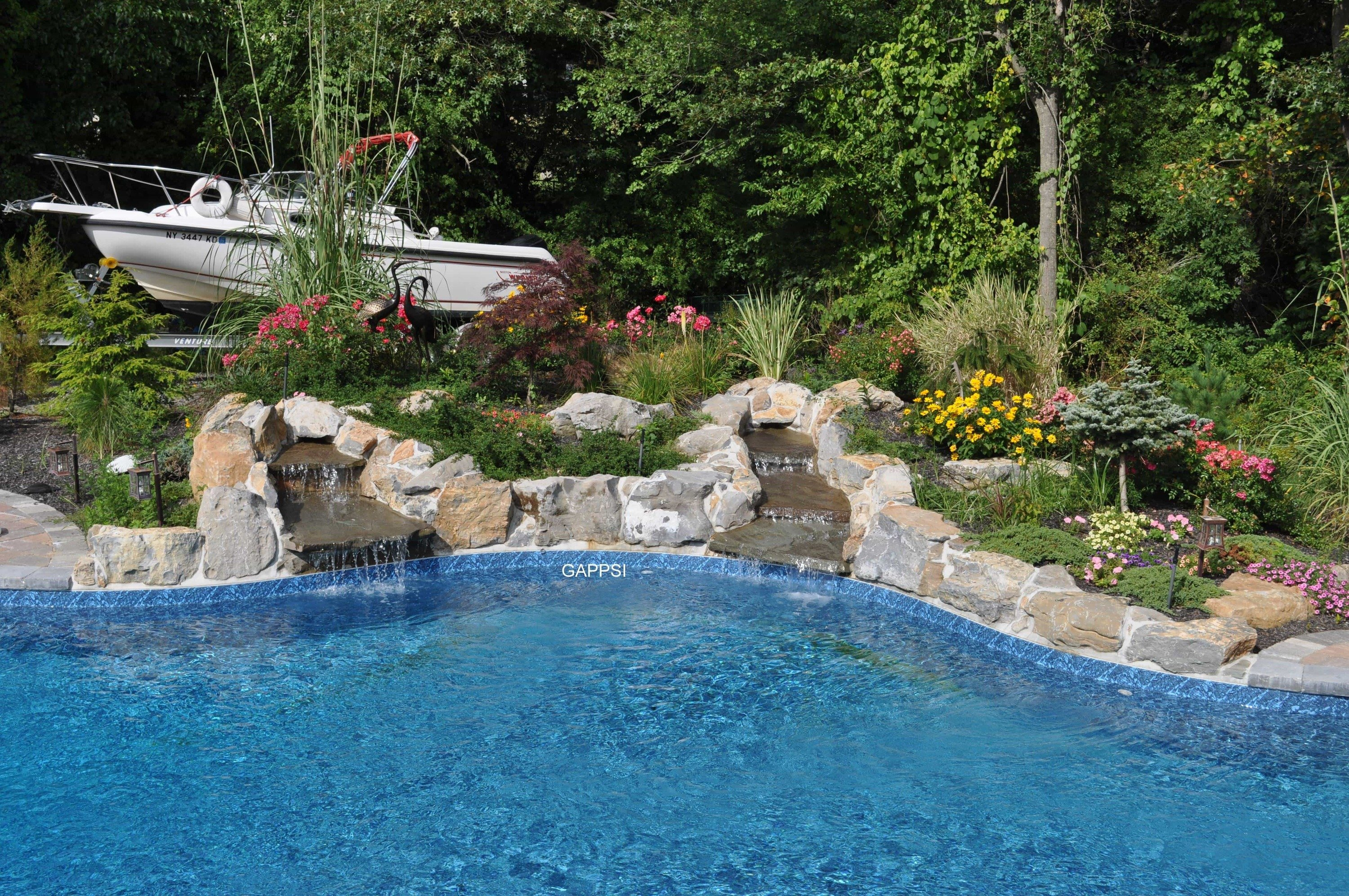 Water Features And Pool Landscaping Portfolio