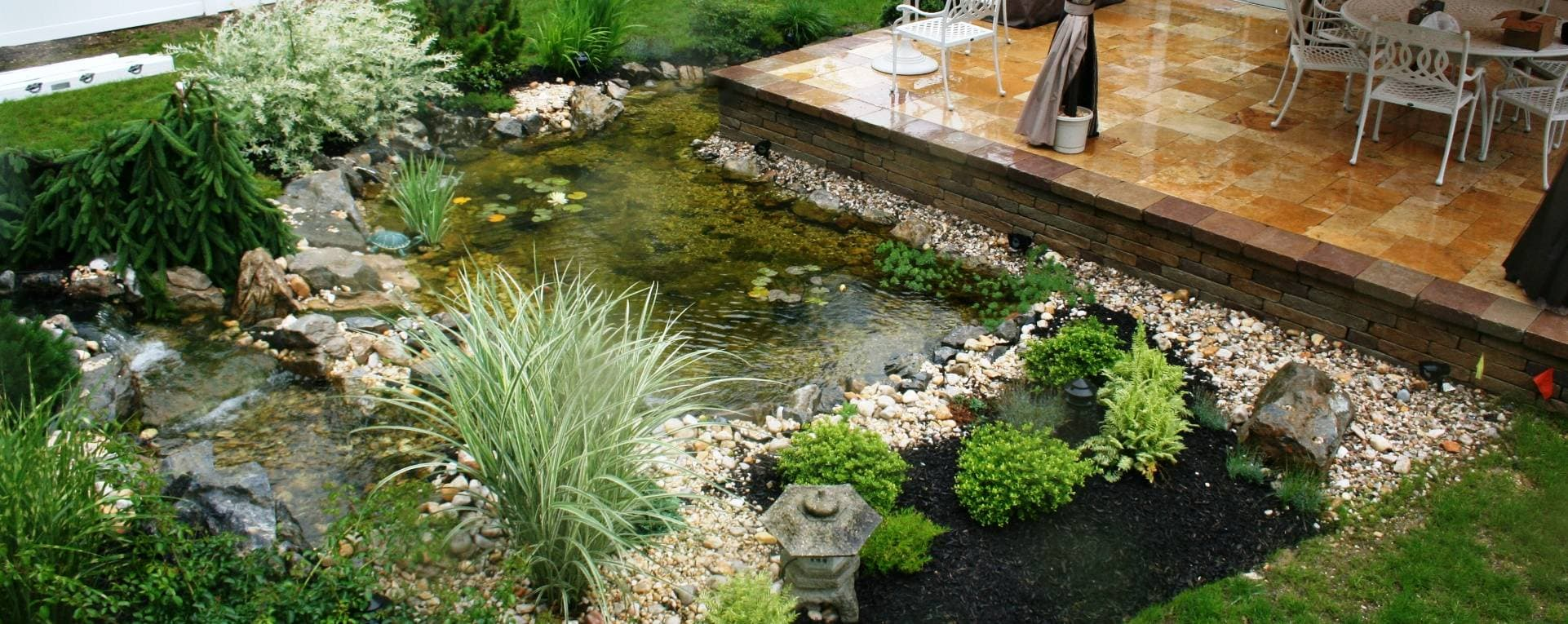 Long Island Water Features Pool Landscaping Waterfalls