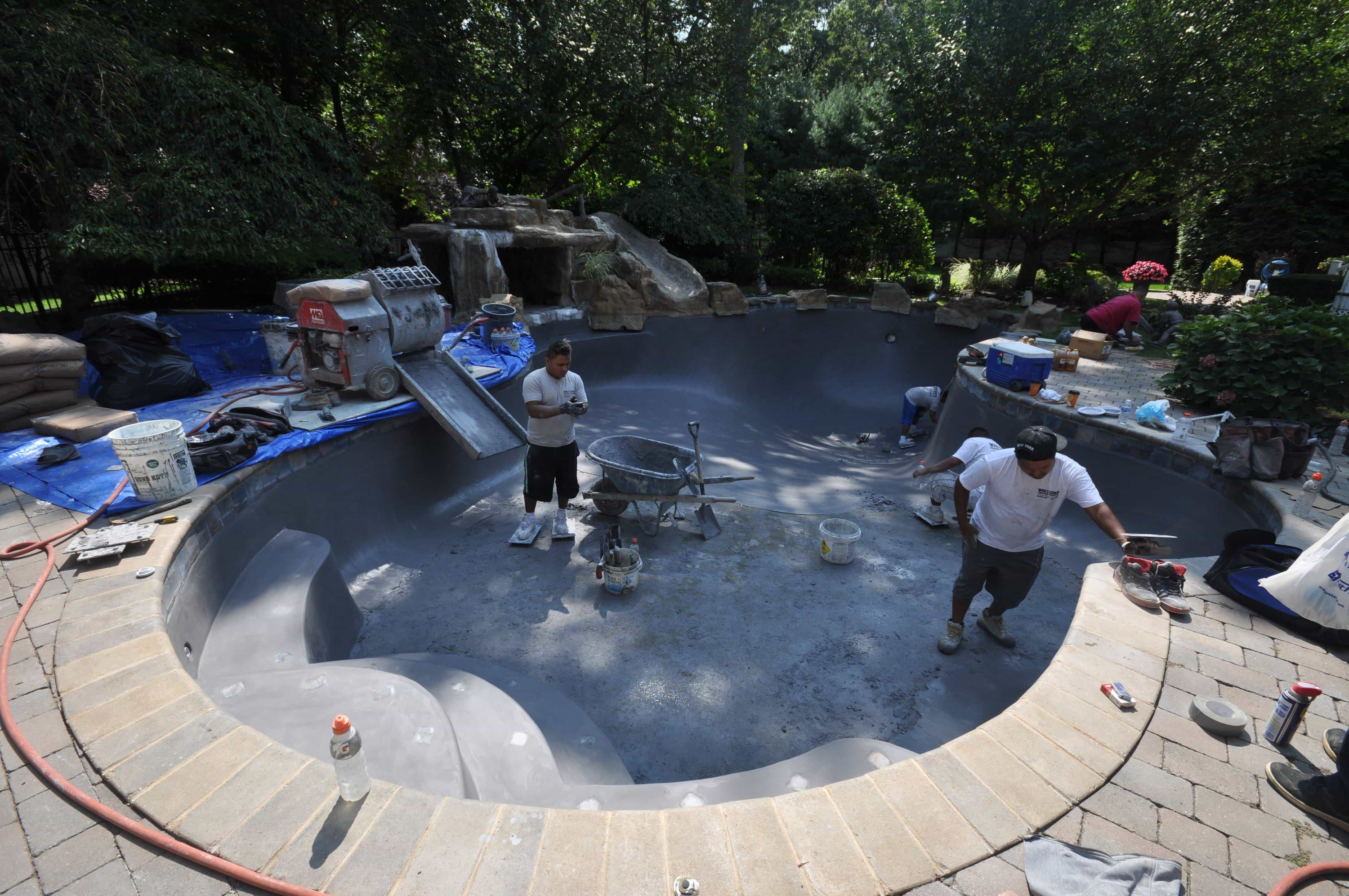 Swimming Pool Marble Dusting Company Servicing Nassau
