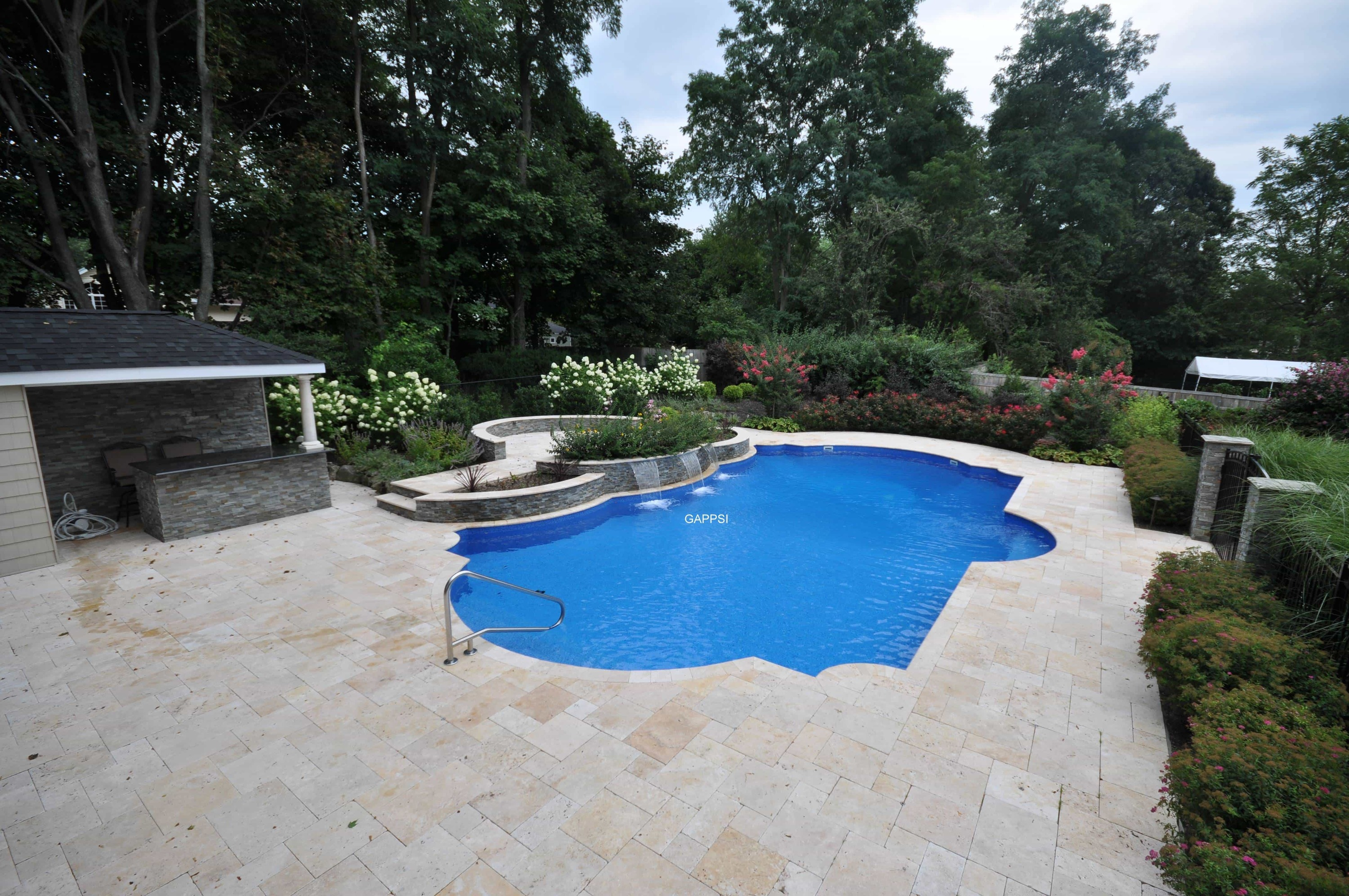 Naturals stones pavers wall veneers distributor for Pool design long island ny