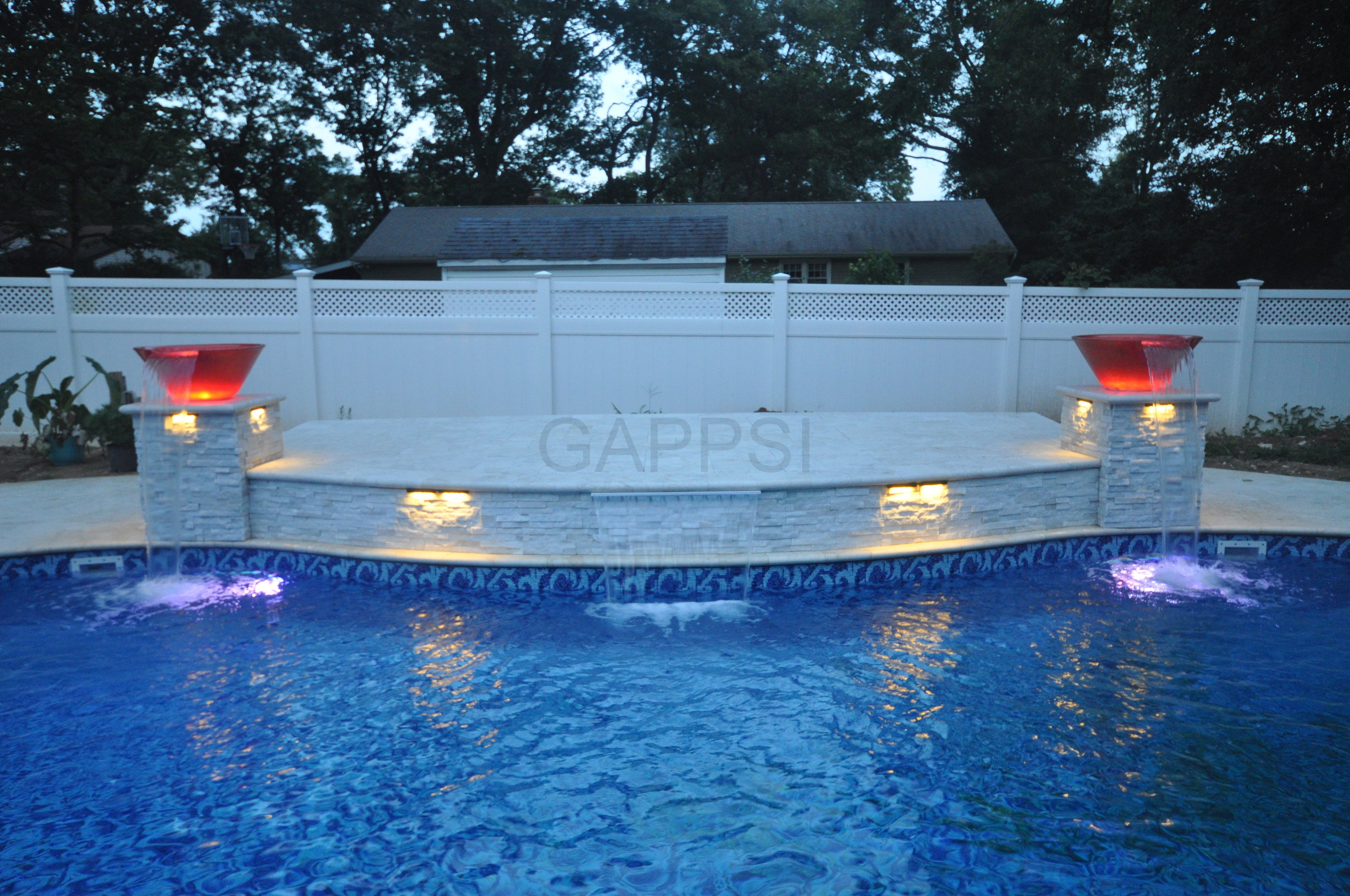 beautiful water featurs for pool patio ideas by Gappsi